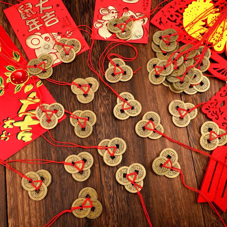 Münzen mit Namen von chinesische Kaiser bringen Glück