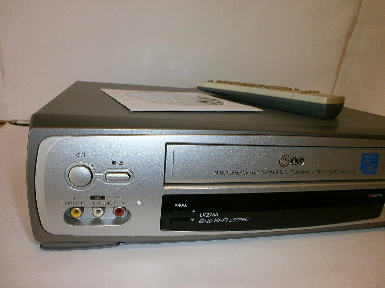 LG LV 2765 VHS Videorekorder