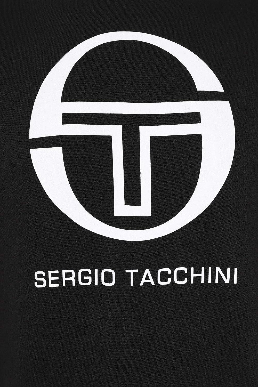 Blue Sergio Tacchini Mens Graphic Sweatshirt