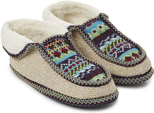 CityComfort Bota Mujer | Zapatillas Casa Bota Mujer Invierno Cerradas | Botas Pantuflas Mujer | Zapatillas Casa Mujer Invierno | Botines De Punto para Interiores: Amazon.es: Zapatos y complementos