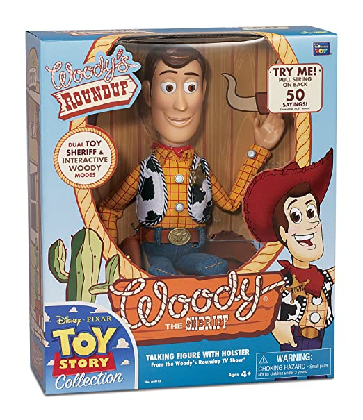 bbaff6599 Amazon.com: Toy Story Collection Talking Sheriff Woody: Toys & Games