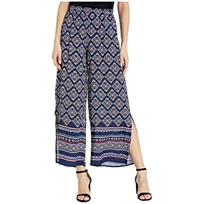 Tribal Women's Pant Wide Leg Culotte Ankle Stretch at Women's Clothing store