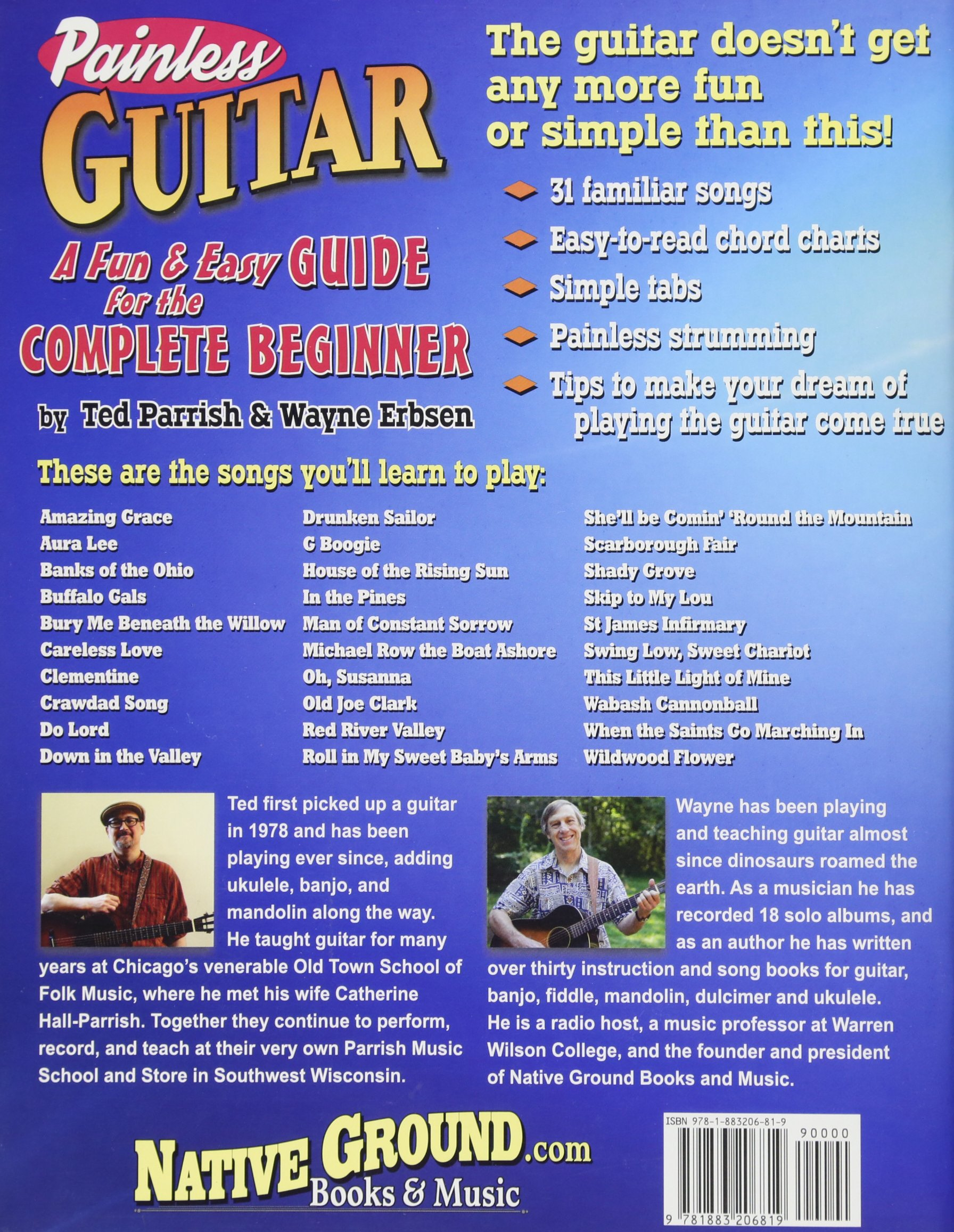 Painless Guitar A Fun Easy Guide For The Complete Beginner Ted