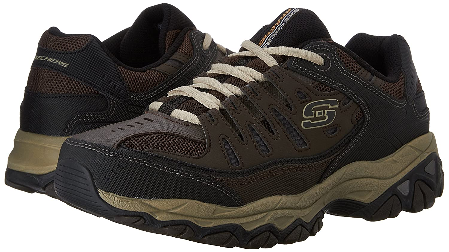 Skechers-Afterburn-Memory-Foam-M-Fit-Men-039-s-Sport-After-Burn-Sneakers-Shoes thumbnail 32