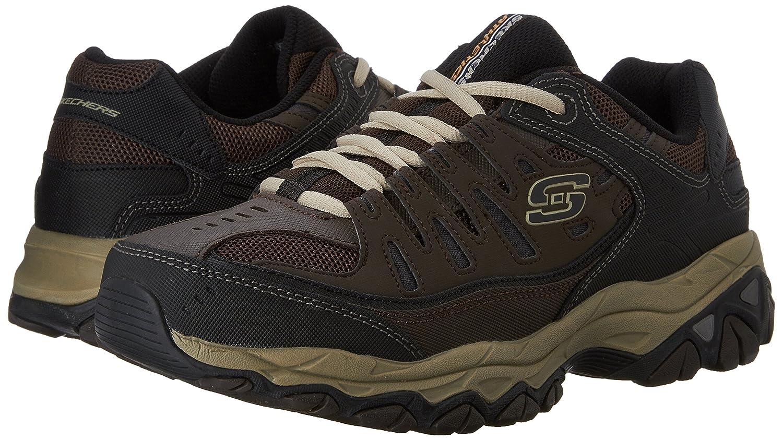 Skechers-Afterburn-Memory-Foam-M-fit-Men-039-s-Sport-After-Burn-Baskets-Chaussures miniature 32