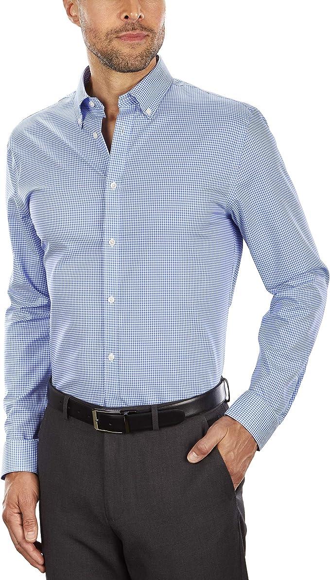 金盒特价 Tommy Hilfiger 汤米希尔费格 免熨 纯棉修身款男式格纹衬衫 3.5折$24.49 多色可选 海淘转运到手约¥187