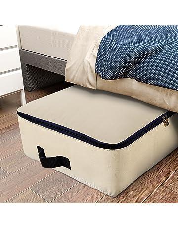 Lifewit Bolsa de almacenamiento Tela Plegable para prendas de cama edredones fundas de edredón manta almohadas