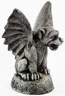 Gothic Gargoyle Figurine Concrete Garden Cement Statue