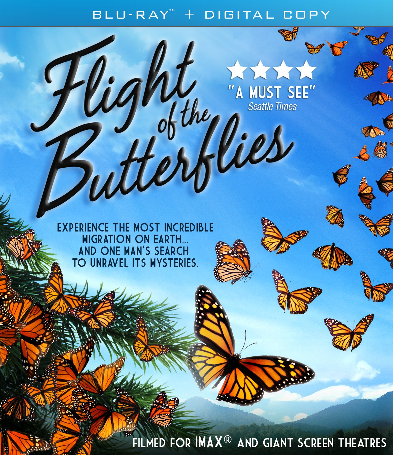 Blu-ray : Imax: Flight Of The Butterflies (Widescreen)