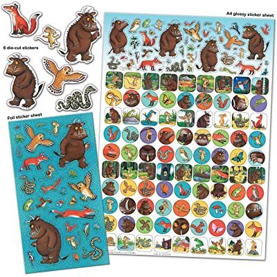 Paper Projects 01.70.22.014 The Gruffalo Mega Sticker Pack: Toys & Games