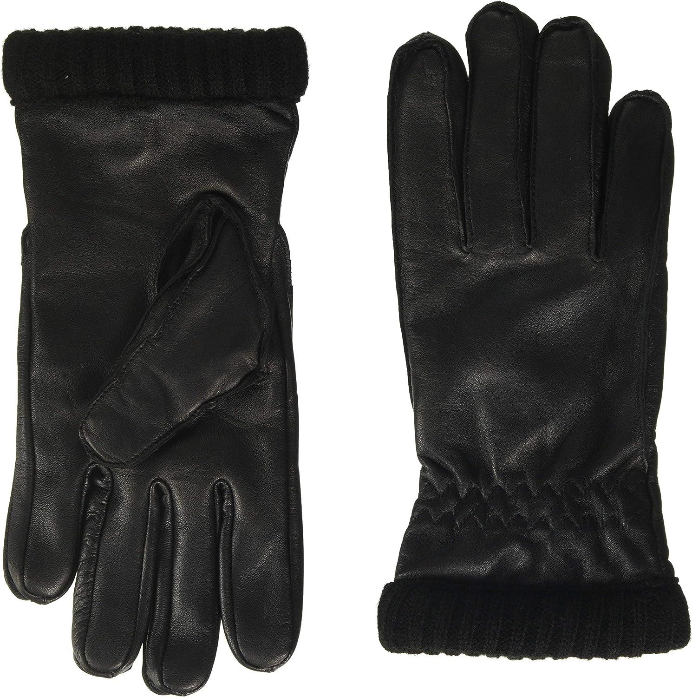 JACK /& JONES NOS Jacjace Leather Gloves Gants Homme