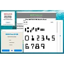 MICR Font E13B App [Download]