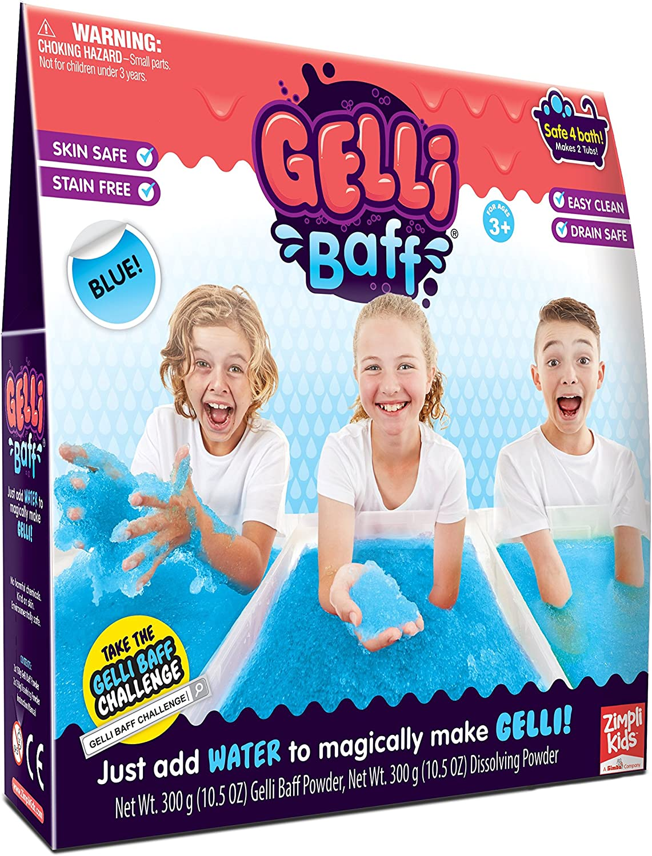 GELLI BAFF LAGOON BLUE TURN WATER INTO GOO JELLY BATH KIDS CHILDREN NEW
