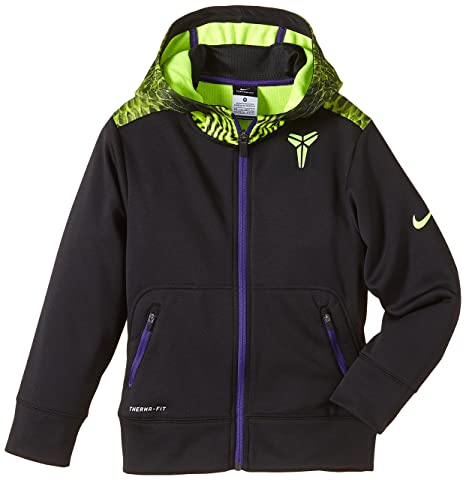 Nike Kobe Performance - Sudadera con capucha para niño negro negro/morado Talla:large