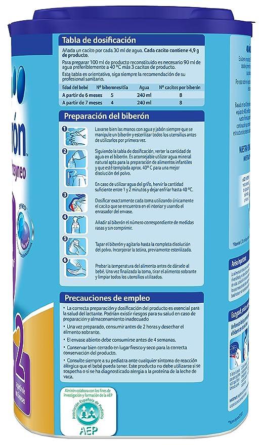 Almirón Prosyneo 2 Leche de Continuación en Polvo desde los 6 Meses 800 g: Amazon.es: Alimentación y bebidas