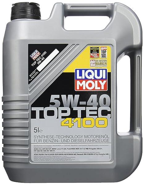 Liqui Moly 9511 Aceite Top Tec 4100, 5W-40