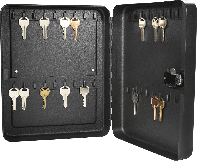Barska AX11820 36 Position Key Safe with Combination Lock (Black)