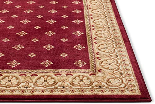 Well Woven Barclay Hudson Terrace Red Traditional Area Rug 2 3 X 3 11
