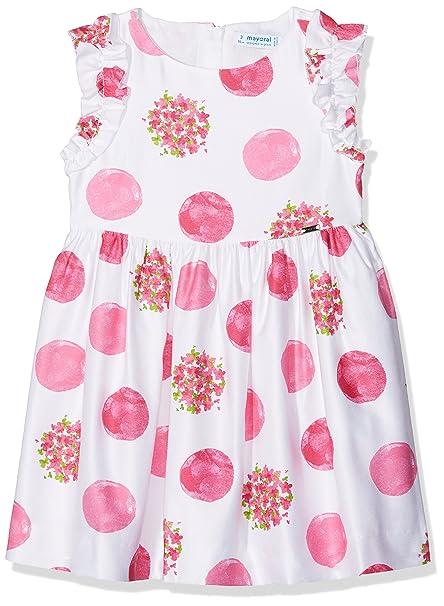 Mayoral 3942, Vestido para Niñas, Rosa (Fucsia), 9 años (Tamaño