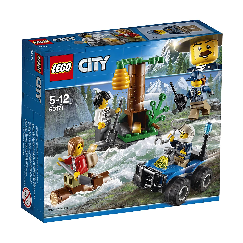 LEGO City 60171 - Police - Giochi, Fuga in Montagna