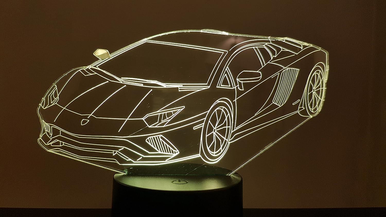 Lampe 3D Motif: Lamborghini
