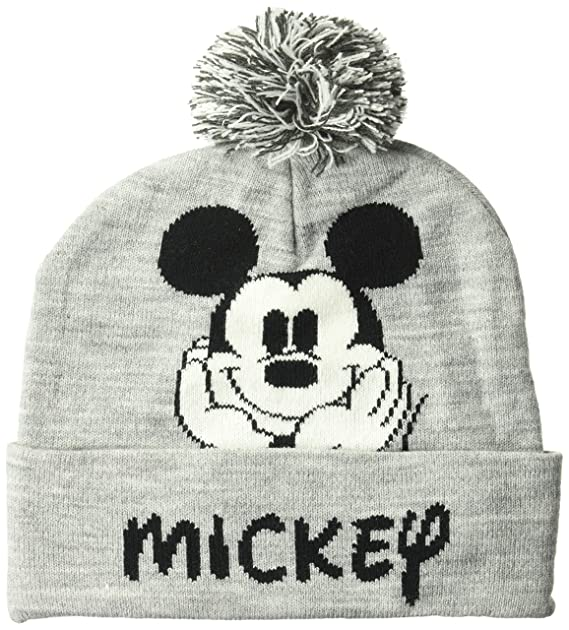 b4132338c937b Image Unavailable. Image not available for. Color  Disney Classics Mickey  Mouse Winter Beanie