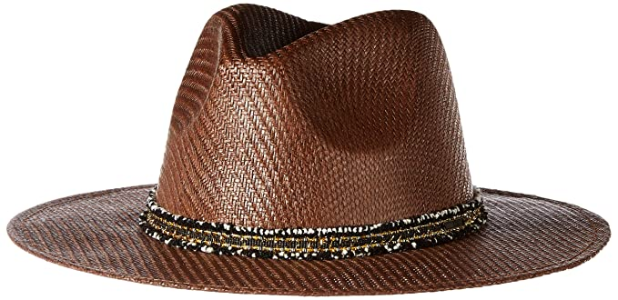 6350d2ff3a1 Roxy Men s Here We Go Straw Panama Hat at Amazon Men s Clothing store