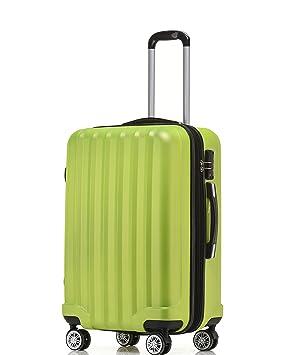 TSA - Candado 2080 Hang epäck ruedas Gemelas nuevo Maleta rígida L XL de m (Board Case) en 12 colores, verde, large: Amazon.es: Deportes y aire libre