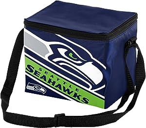 NFL Big Logo Stripe 6 Pack Cooler
