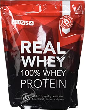 Prozis Natural Real Whey Protein, Proteina en polvo, enriquecido con BCAA para Crecimiento Muscular y Recuperación, óptimo para culturismo, Chocolate ...