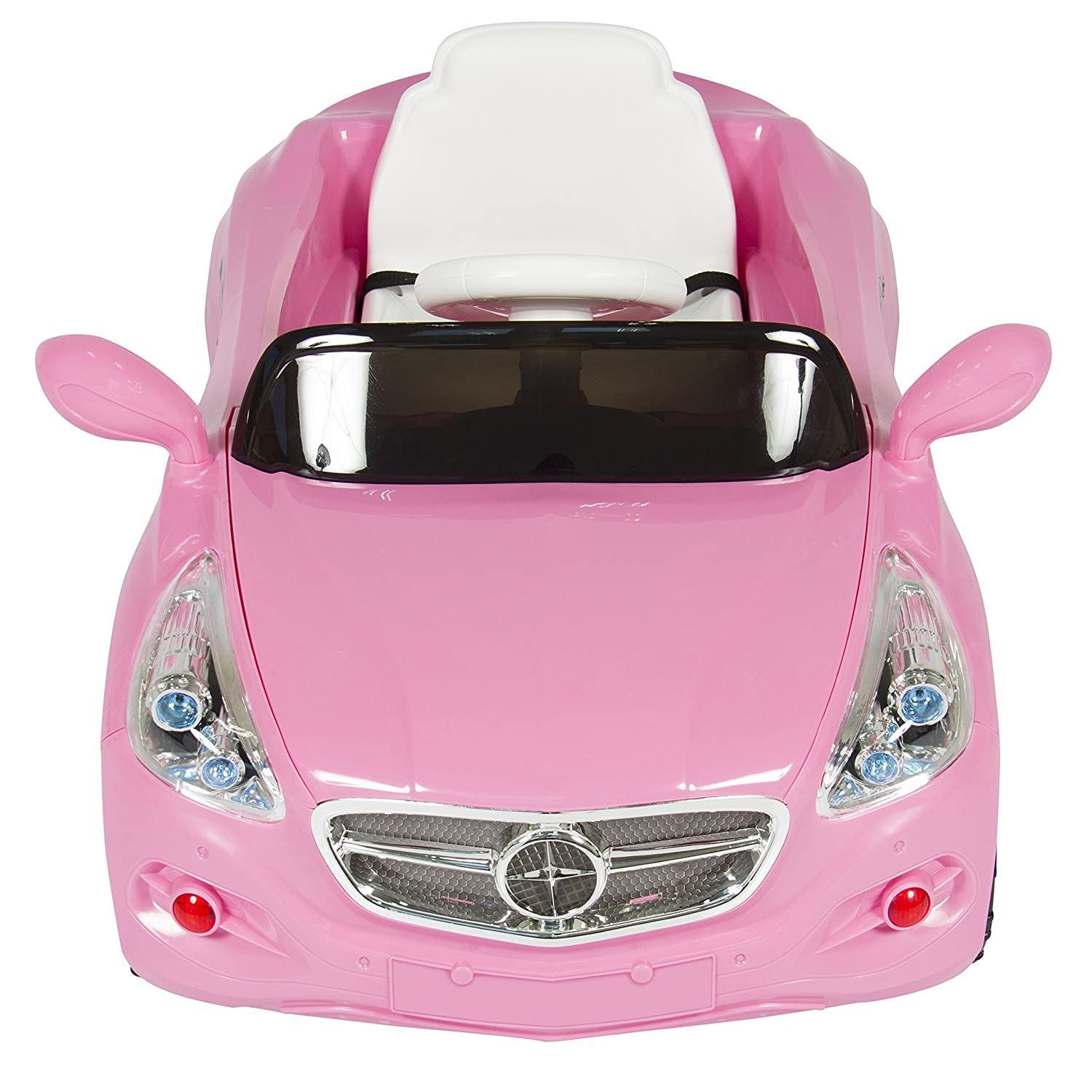 amazoncom best choice products kids 12v electric power wheels rc car ride on with radio mp3 pink toys games