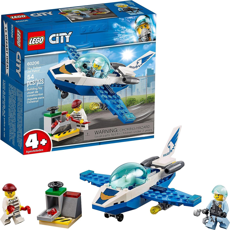 Damaged Box NEW LEGO 60206 CITY Sky Police Jet Patrol