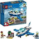 LEGO City Sky Police Jet Patrol 60206 Building Kit (54 Pieces)