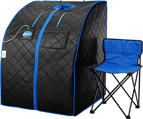 STEAMFLEX Portable Steam Sauna fits Massage Tables Blue