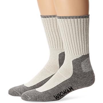 top selling Wigwam Men's At Work DuraSole Work 2-Pack Crew Length Work Sock