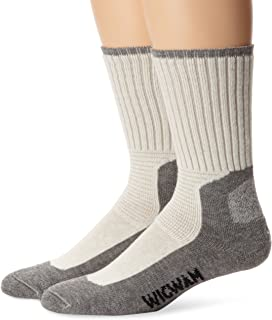 product image for Wigwam At Work Durasole Pro 2-Pack S1349 Sock, White/Grey - LG