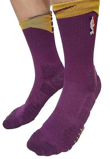 Calcetines de baloncesto NBA Logoman para hombre Tamaño: 42-46 EUR (26-