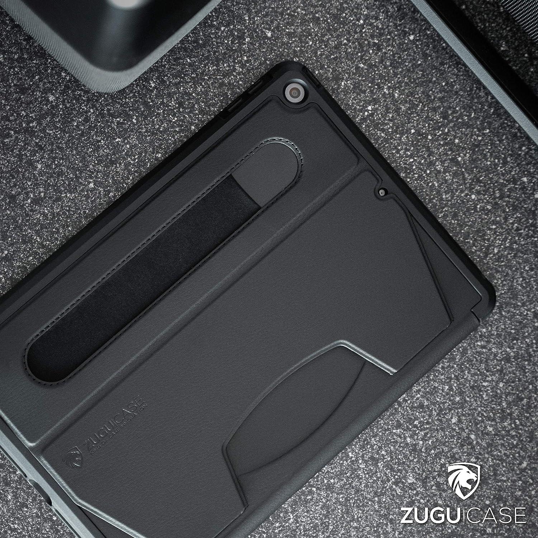 Zugu Ipad 10 2 Hülle 2020 2019 Schlanke Schutzhülle Für Die Ipad8 Ipad7 8 Winkel Ständer Magnetisch Stifthalter Auto Sleep Wake Up Schwarz Elektronik