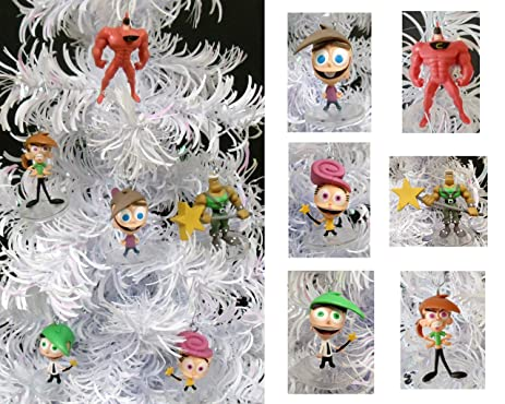 nickelodeon the fairly oddparents christmas ornaments featuring timmy turner vicky wanda cosmo - Fairly Oddparents Christmas