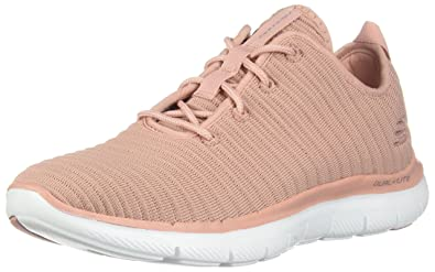 on sale 0e3f7 dacd4 Skechers Damen Sneaker Flex Appeal 2.0 Estates Schwarz