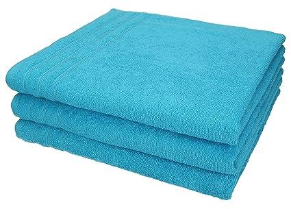 Betz 3 pieza ducha paños Toallas tamaño 70 x 140 cm 100% algodón Toallas de