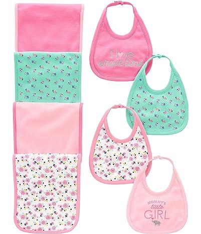 Simple Joys by Carter's Baby Girls' 8-Pack Burp...
