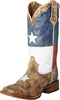 Roper Texas Star Men's Square Toe Cowboy Boot