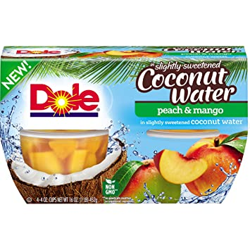 36107611689cfa Amazon.com   DOLE FRUIT BOWLS, Peach and Mango in Slightly Sweetened ...
