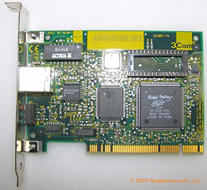 FAST ETHERLINK XL PCI 10100BASE-TX WINDOWS DRIVER