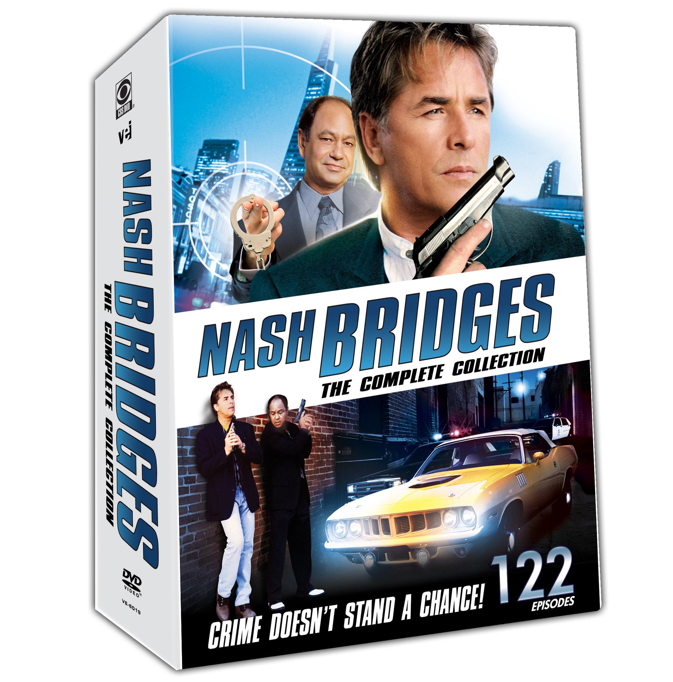 Nash Bridges: Complete Collection (22 Disc Set)