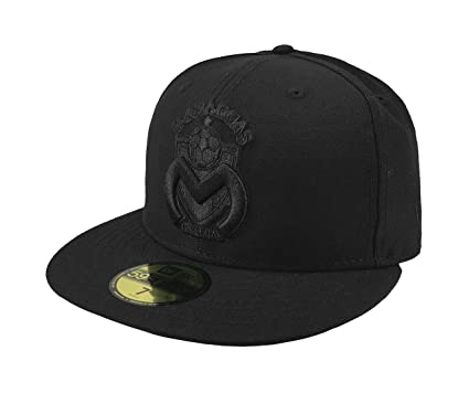 New Era 59Fifty Hat Monarcas Morelia Michoacan Mexican League Black Fitted Cap (6 7/