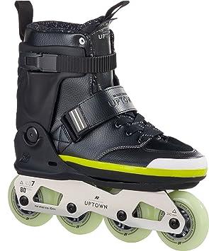 K2 Patines en línea Adultos Uptown, Unisex, Inline Skate Uptown,, UE, Hombre, Inline Skate Uptown, Black/Silver/Lime: Amazon.es: Deportes y aire libre