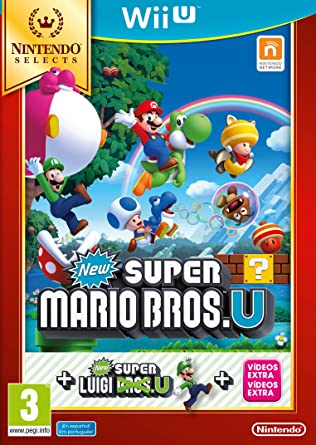 New Super Mario Bros. U + Luigi U: Amazon.es: Videojuegos