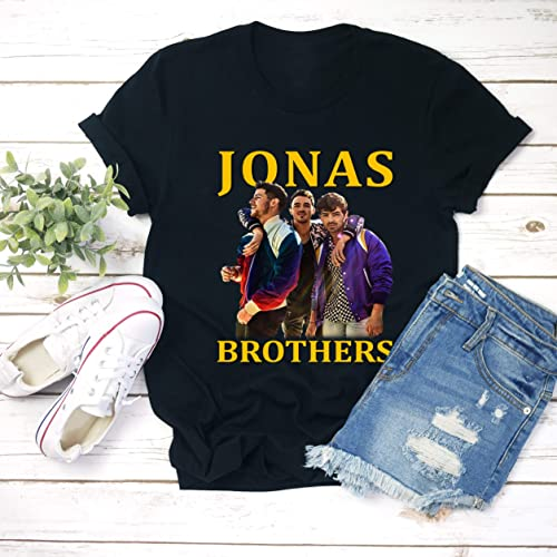 31987489 Image Unavailable. Image not available for. Color: Jonas Brothers Unisex T- shirt ...